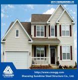 Estructura de acero de la sección ligera de H para la casa prefabricada con la escalera del material de construcción Q235