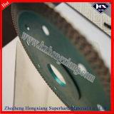 lunga vita Super Thin Blade di 115mm Ceramo Tech Diamond Turbo Hot Press per Ceramic