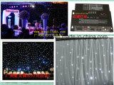 2017 het Nieuwste Witte 4X6m LEIDENE RGB Gordijn van de Ster voor Huwelijk of Disco