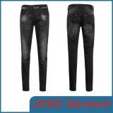 De zwarte Jeans van het Denim van Mensen Magere (JC3080)