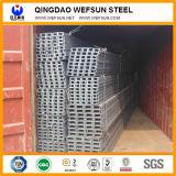 """Scanalatura a """"u"""" della struttura d'acciaio in Cina"""