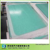 Sublimação de preço barato Placa de corte de vidro temperado em branco com revestimento branco