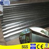 крыша утюга цинка ширины 836mm Corrugated