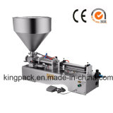 Halfautomatische het Vullen van de Pijp Machine voor Room/Zalf/Deeg