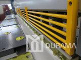Guillotine hydraulique avec angle de cisaillement réglable