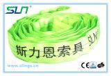 2t*8m Polyester-endlose runde Riemen-Sicherheit Factor6: 1