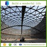 구부려진 지붕 디자인 강철 구조상 창고 작업장 헛간