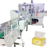 Automatisches weiches Gewebe-Tuch, das Verpackungsmaschine einwickelt