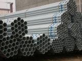 La pianura di Gi BS1387 conclude il tubo galvanizzato del TUFFO caldo di lunghezza di 6m