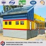 Sinoacme fabrizierte helle Stahlkonstruktion-Einzelverkaufs-Halle vor