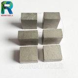 Segmentos del diamante para el corte por bloques de la piedra caliza del mármol del granito