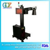 marcador do laser da fibra 20W com o laser de Ipg para a tubulação, os encaixes, o plástico, o PVC, o PE e o metalóide