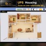 Casa móvil del chalet del diseño flexible del diseño moderno con los cuadros 3D
