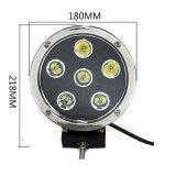 indicatore luminoso di funzionamento automatico del lavoro della lampada LED del CREE LED di 7inch 60W