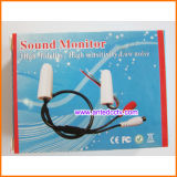 Mini Verborgen AudioMicrofoon voor kabeltelevisie DVR en Camera