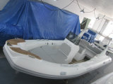Barco inflable de la pequeña costilla del motor del Panga de la fibra de vidrio de Liya los 22FT