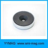 Ímã de copo cerâmico composto de ferrite magnético