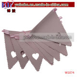 Bunting Banner Garland Wedding Party Décoration de baptême (W1074)