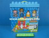 教育おもちゃ、ギフトプラスチックDIYのおもちゃのBukldingのブロック(982603)の子供