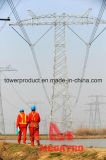 Megatro 800kv Uhv DC configuración horizontal de torre de celosía de la estructura de acero