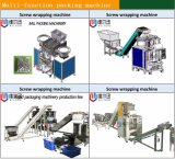Máquina de envasado automático de la cruz de plástico para los fabricantes de las ventas directas
