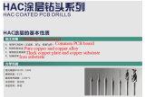 Taladro del PWB de la capa del diamante para los materiales del grafito