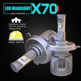 新しいX70 H4 Hb2 9003 12V 24V自動車LEDのヘッドライトの球根自動ライト60W 15600lmオートバイのアクセサリ