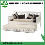 Festes Kiefernholz zieht Sofa-Bett für Wohnzimmer aus (WJZ-B81)