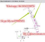 Sdlg LG936 LG938 변속기는 전송 케이블 샤프트 LG06-Bscz-936 4190000871/속도 제어 기계장치 4110000659를 분해한다