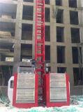 판매를 위한 엘리베이터를 게양하는 두 배 감금소 건축