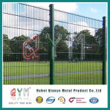 PVC Coated Welded Doubles Wire Fence /Twin Wire Mesh Panel