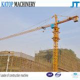Guindaste de torre quente das vendas Qtz63 Tc5013 para o canteiro de obras