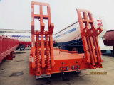 Heavy Machinery를 위한 거위 목 모양의 관 Type Low Bed Semi Trailer