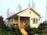 Casa ligera diseñada prefabricada y con estilo de la estructura de acero (KXD-48)
