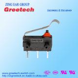 Microinterruptor Subminiature 3A 12V para o auto deslocador