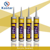 Sealan de calafetação Waterbased do elevado desempenho & Paintable branco (Kastar280)