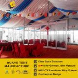 ISOによって証明される玄関ひさしによってはパーティを楽しむ販売(hy015g)の結婚披露宴のためのテントが