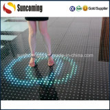 Programmierbare IP65 Anlassen Glass Interactive LED Dance Floor