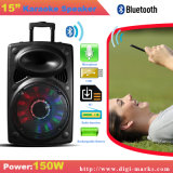 Altavoz portátil inalámbrico Bluetooth con Revoving Luces de Hornos