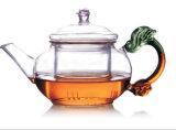 Le design de mode Brosilicate résistant à la chaleur infuser le thé de verre pot avec