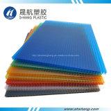 Panneau de toiture en polycarbonate Glittery PC avec revêtement UV
