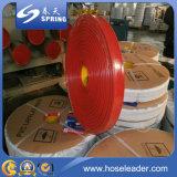 Boyau rouge de débit de l'eau de PVC Layflat pour l'irrigation