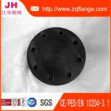 Bride plate borgne en acier modifiée de BS4504 Pn16