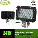 luz del trabajo de 8inch 24W LED con el CREE LED para el jeep