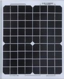 Nouveau 125W mono panneau solaire cristallin pour Solar Power Plant avec TUV, CEI, ce certificat de la CCE