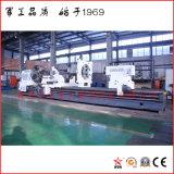 Сверхмощный Lathe для морской подвергать механической обработке вала (CG61100)