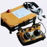 F24-60 Doble Joystick Inalámbrico Industrial Radio Controles Remotos para Bombas de hormigón