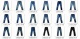 Soft-Washed Jeans, jeans de mezclilla recto de la Moda 2014