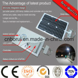 12W étanche IP65 CREE Induction All in One Solar Panel Streetlight