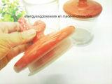 Frasco ajustado de /Glass do frasco de vidro quente do armazenamento da venda com tampa cerâmica